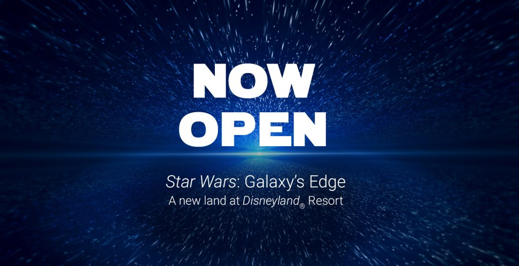 star wars galaxys edge now open